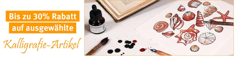 Bis zu 30% auf ausgewählte Kalligrafie-Artikel