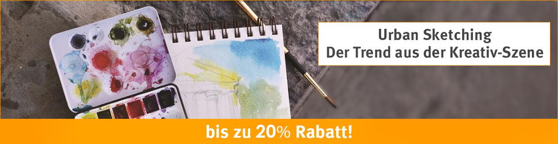 Urban Sketching  Der Trend aus der Kreativ-Szene  bis zu 20% Rabatt