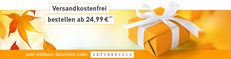 Versandkostenfrei ab 24,99 Euro