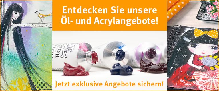Öl-Acryl-Aktion 2021