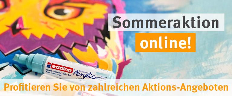 Sommeraktion online! Profitieren Sie von zahlreichen Aktions-Angeboten.