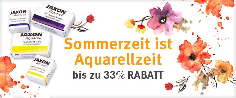Sichern Sie sich jetzt bis zu 33% Rabatt auf ausgewählte Artikel für die Aquarellmalerei.