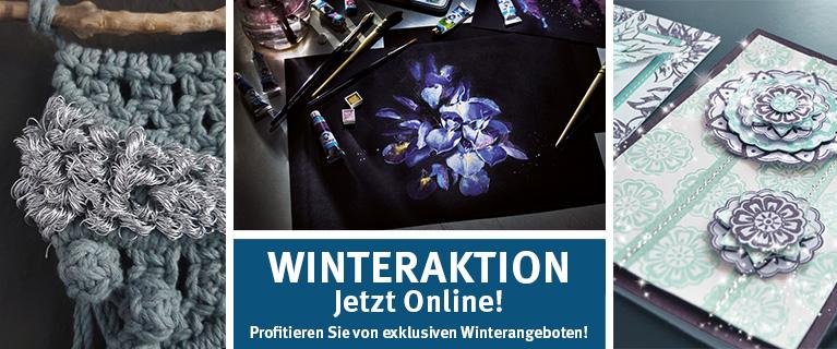 Winteraktion jetzt online! Profitieren Sie von exklusiven Angeboten!
