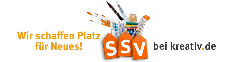 Wir schaffen Platz für Neues! SSV bei kreativ.de!